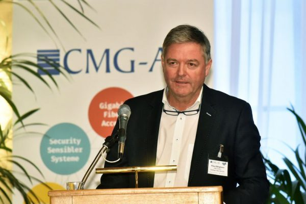Klaus Bergmann (CTO) am Fiberday 2017