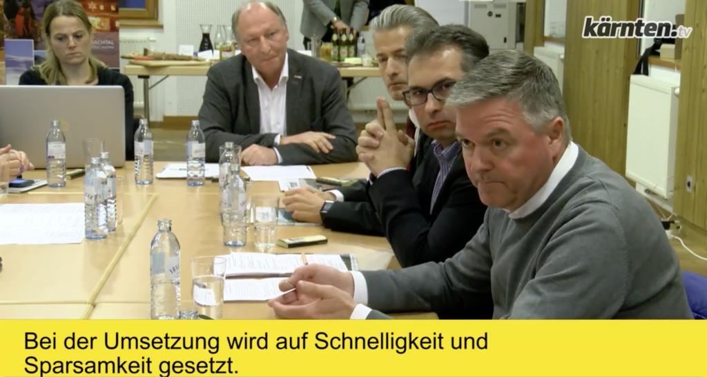 Glasfasernetz Ausbau in Kärnten
